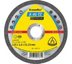 Đá Cắt Inox - A46TZ Ø125x1.6x22.23mm